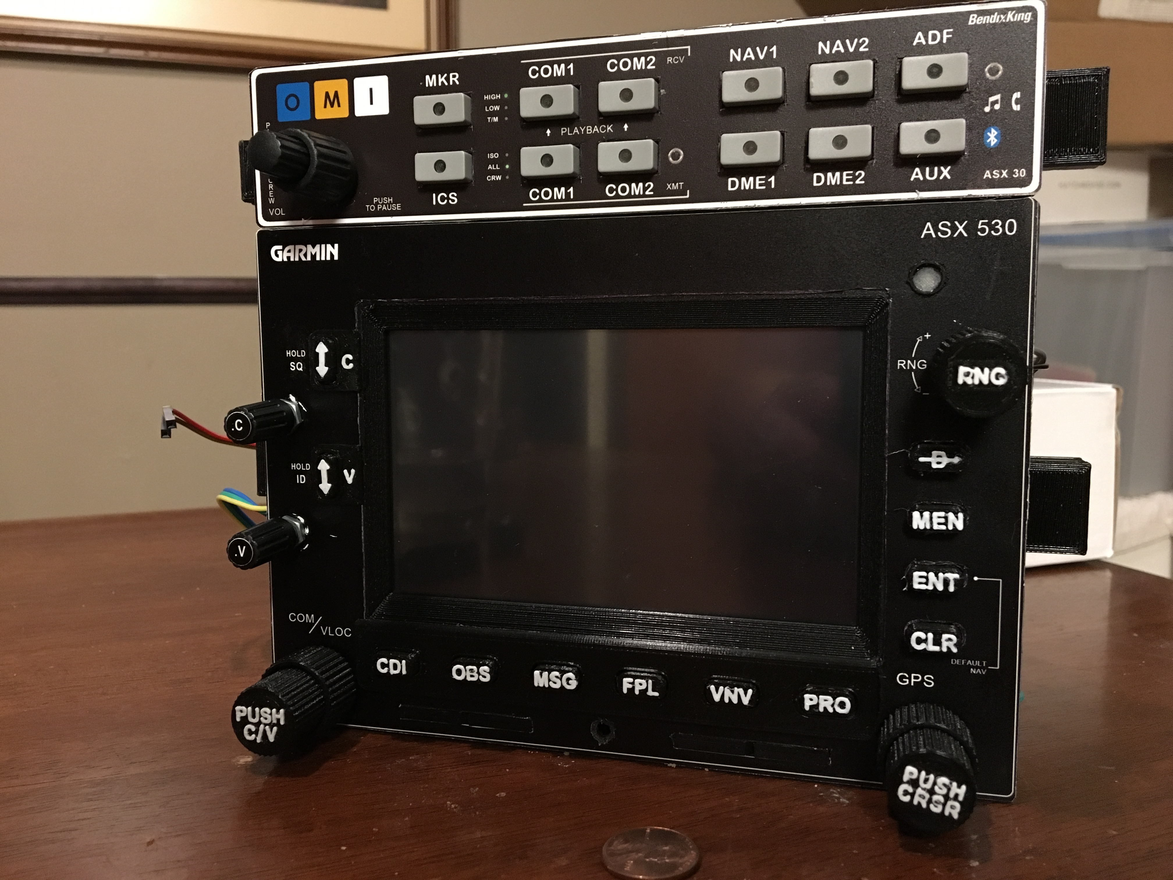 Upgraded audio Panel and GNS 530
